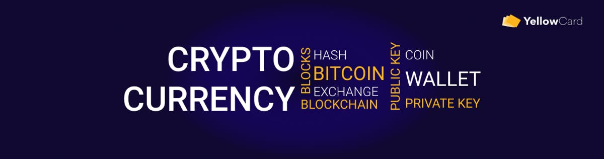 cryptocurrency glossary. crypto terms to know