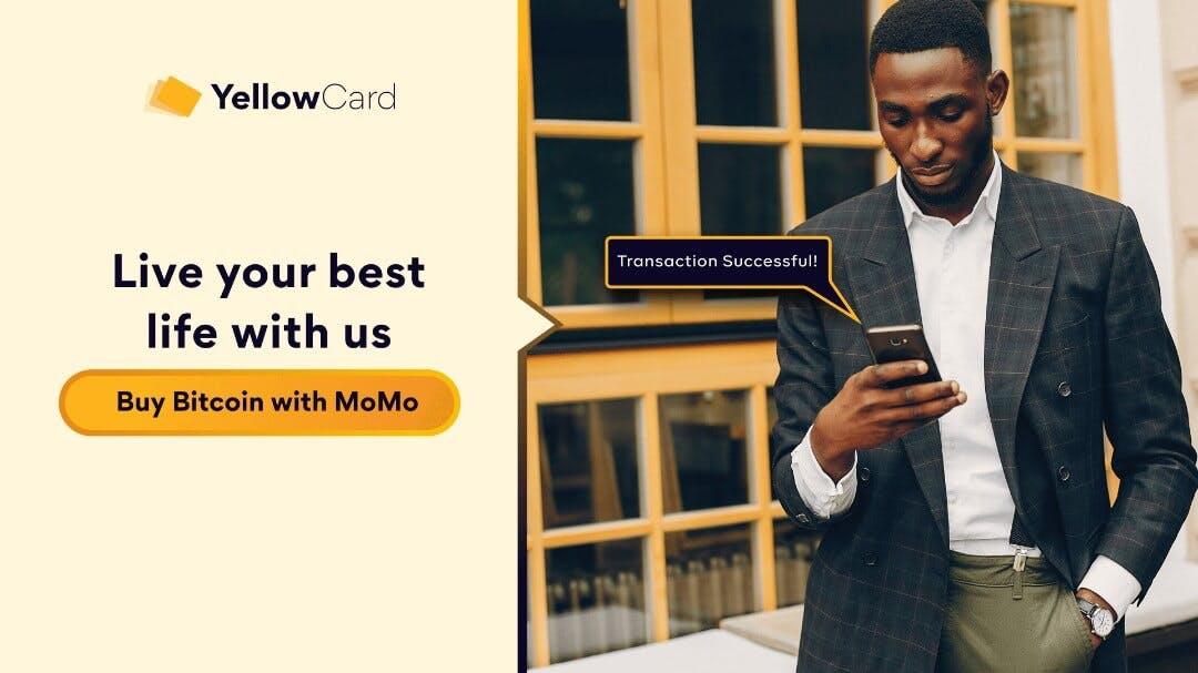 Buy BTC with MoMo on Yellow Card