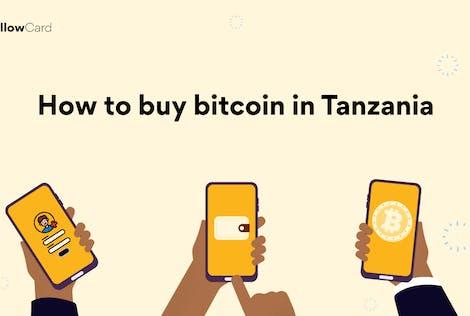 How to buy bitcoin in Tanzania