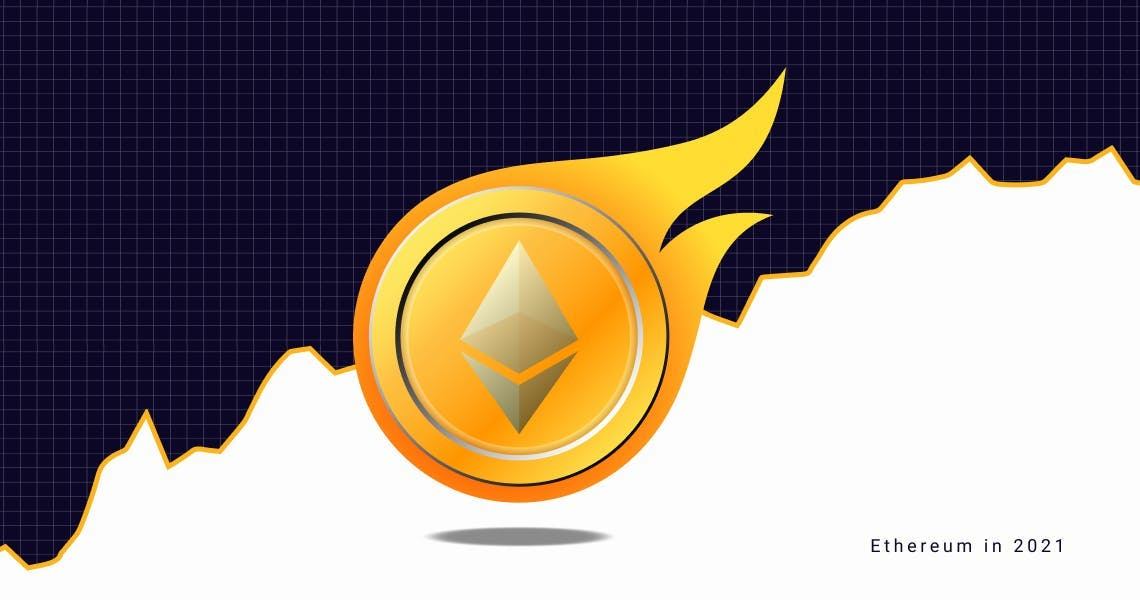 Ethereum cryptocurrency in 2021