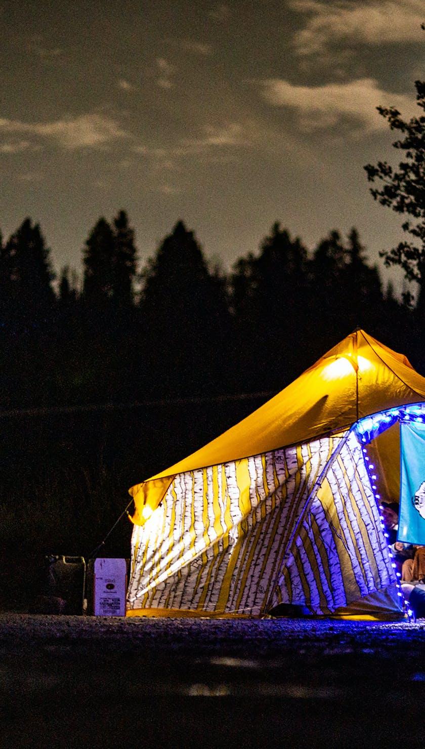 Durango Gathering 21 - Tents