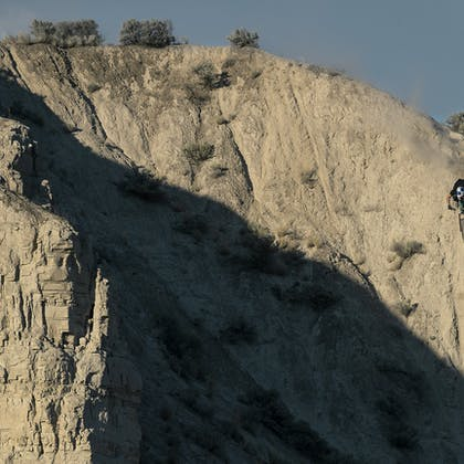 SB165 being ridden by Richie Rude in Kamloops BC
