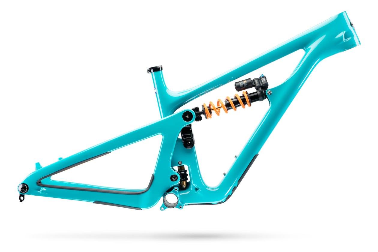 Yeti SB165 Turq Frame in Turquoise
