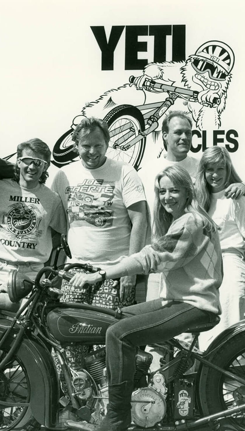 Yeti Crew back in the day.