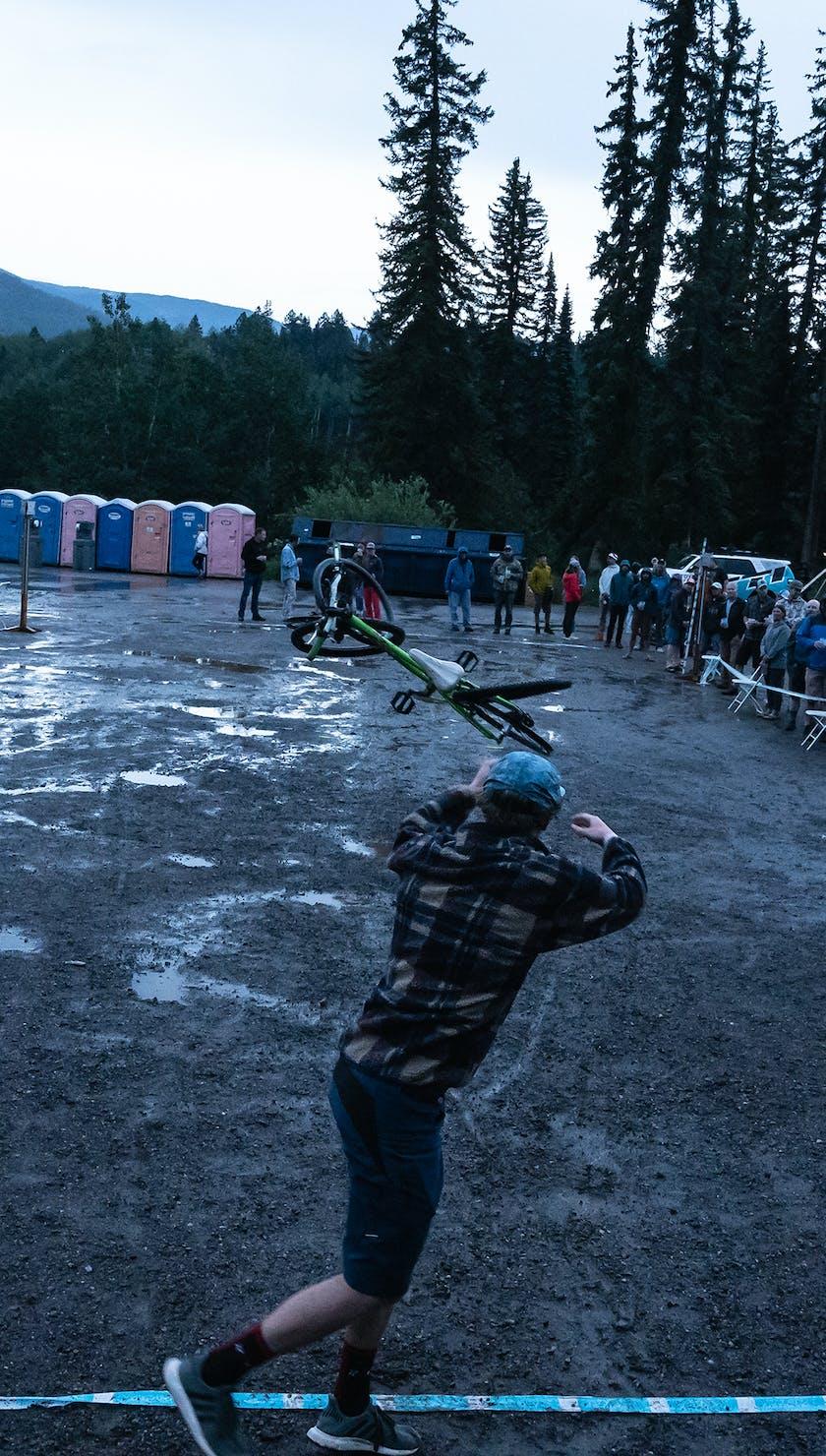 Durango Gathering 21 - Bike Toss