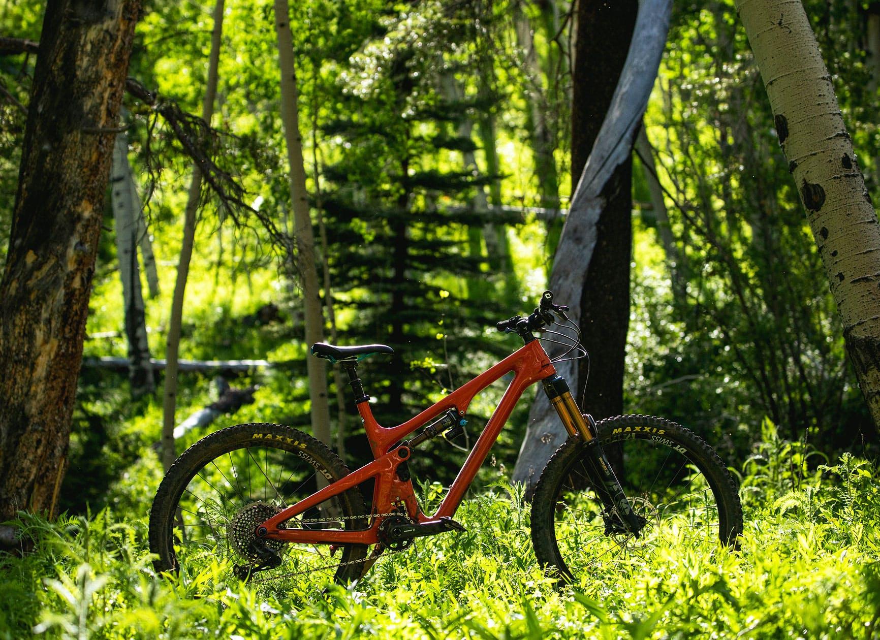 Yeti SB140 full-suspension trail bike