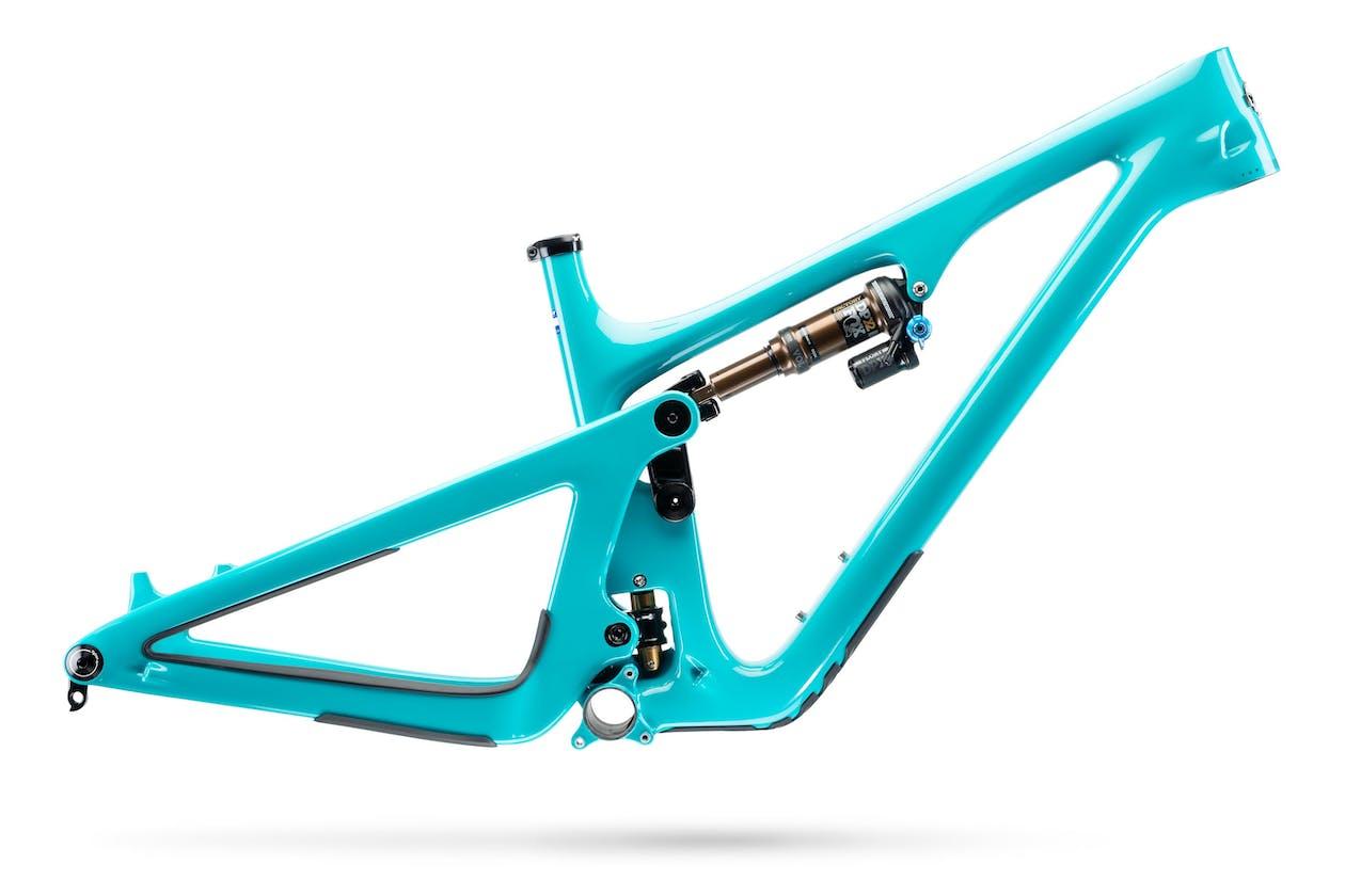 2020 SB140 Turq frame in turquoise