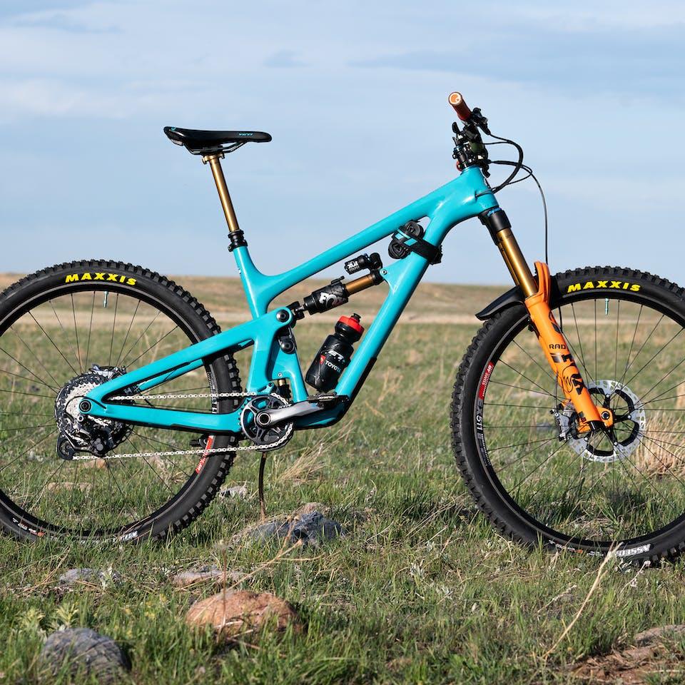Richie Rude's 2020 Yeti / Fox Factory Team Race Bike