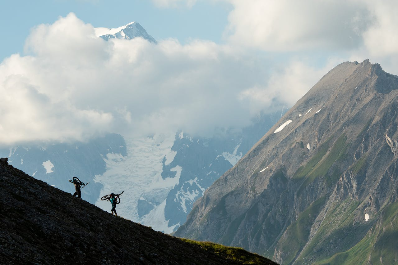 Cody Kelly and Shaun Neer in Aosta Valley