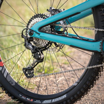 Shimano XT drivetrain on the 2020 Yeti Fox Devo Team Bike