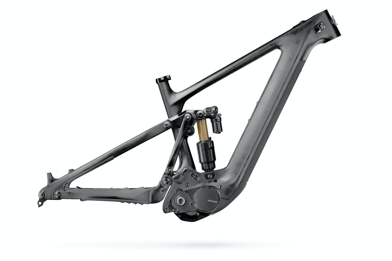 160E Frame Raw Carbon