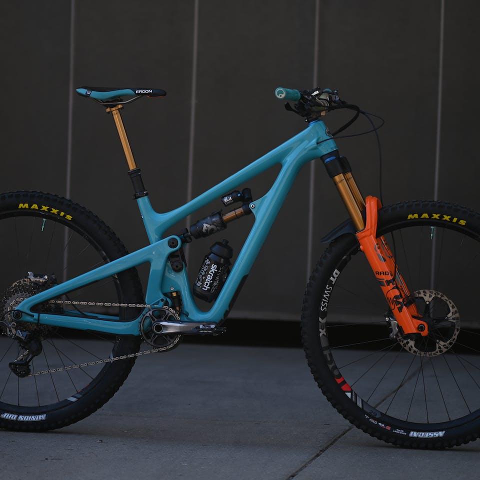 Shaun Neer 2020 Yeti SB150 Race Bike