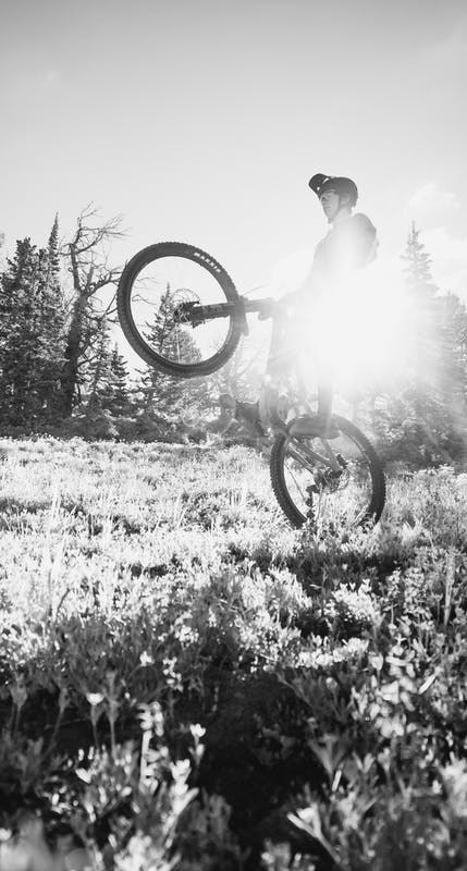 Bryn Bingham wheelie