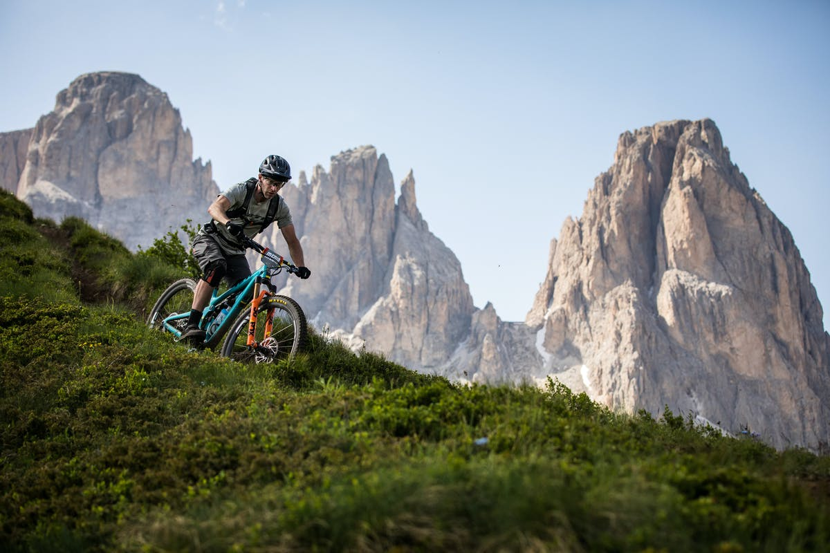 Dave Trumpore on his 'commute' at an EWS.