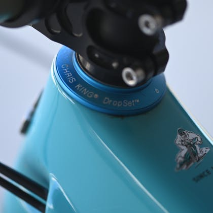 Chris King Headset on Shaun Neers 2020 Yeti SB150 Race Bike