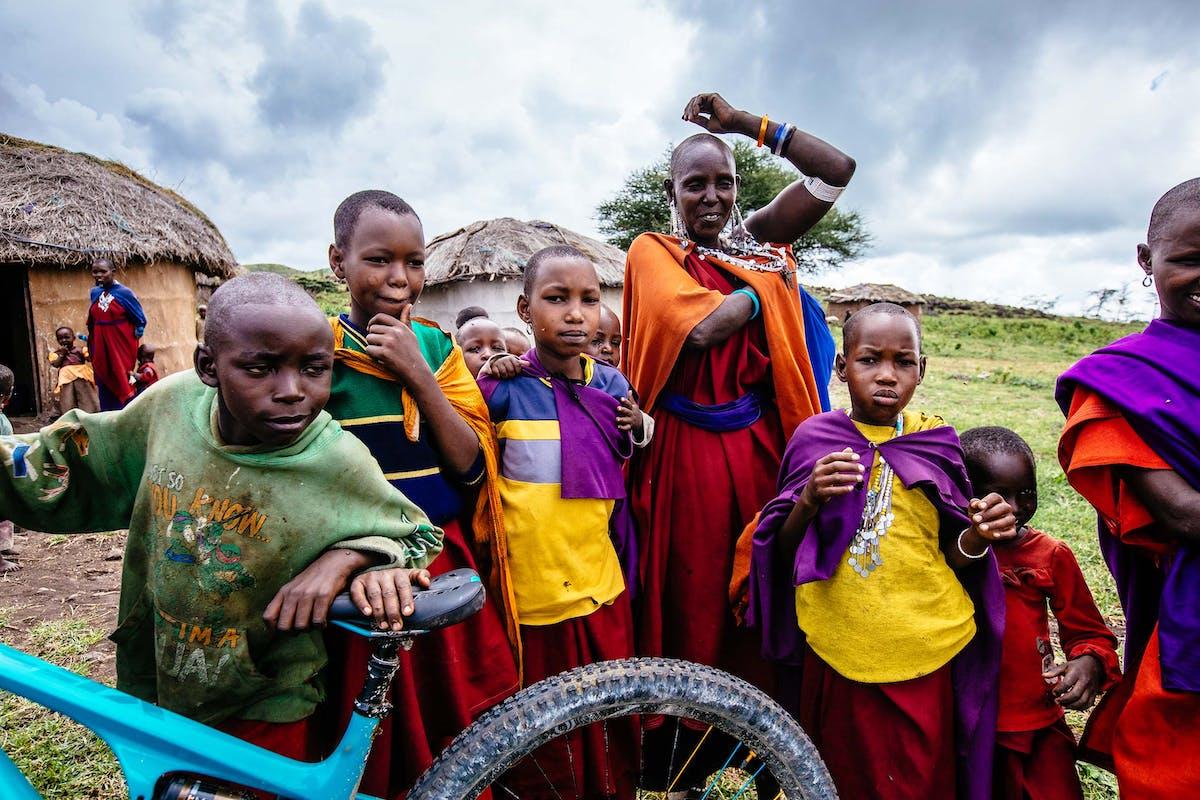 Ugandan locals
