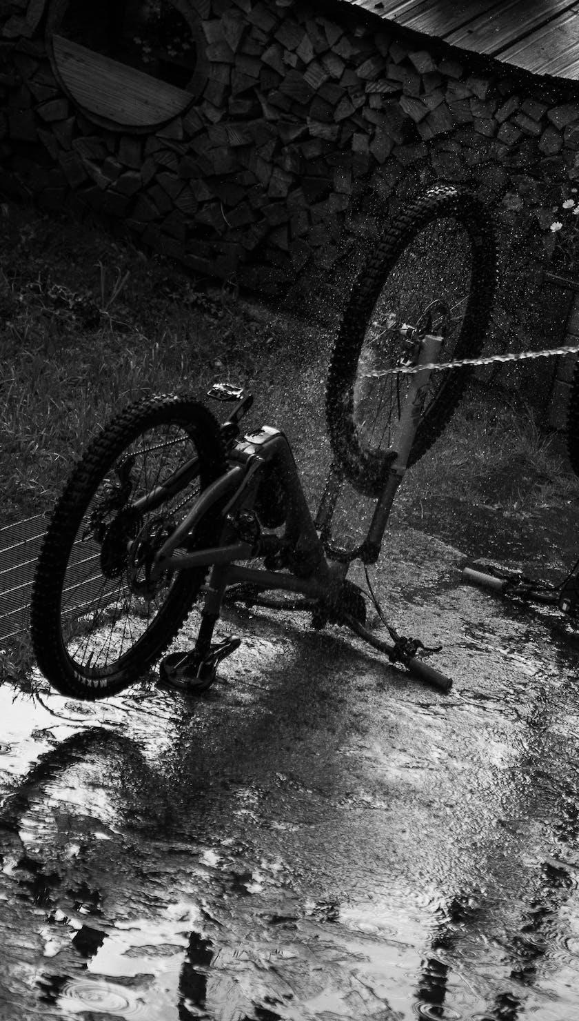 EWS '21 Canazei 2 Bike Wash