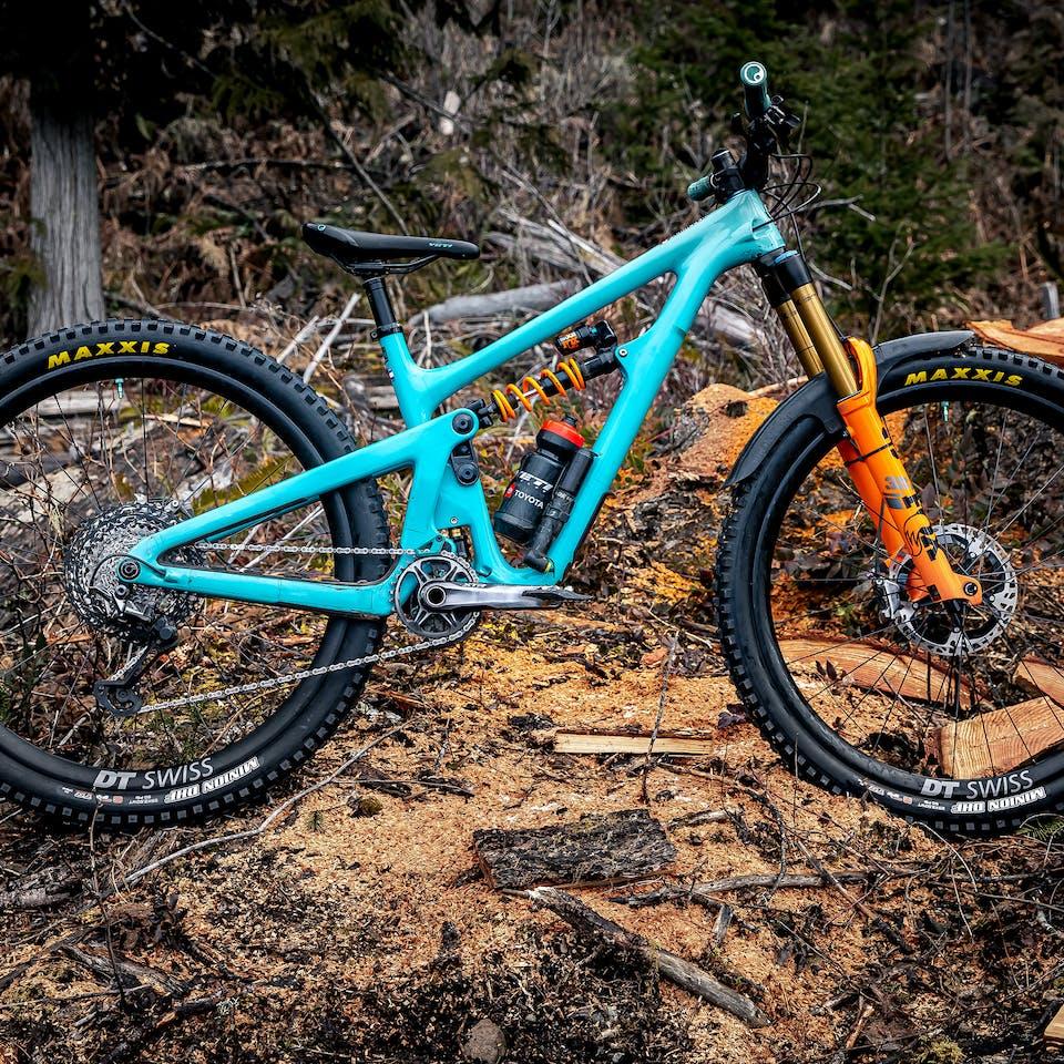 Kasper Wooley ONEUP Pro Team SB150 Bike Check