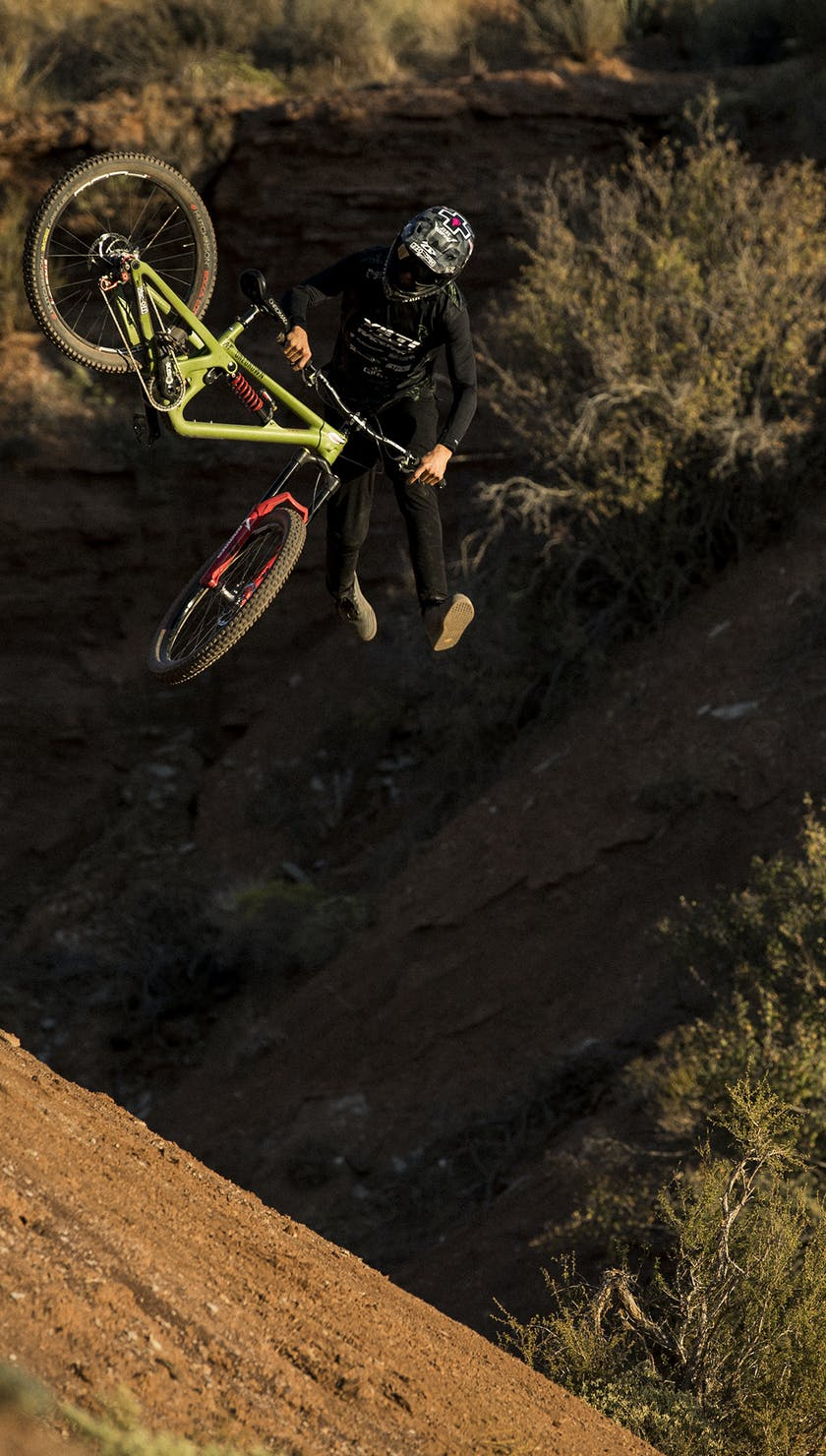 Reed Boggs From Then Till Now - Downside tailwhip