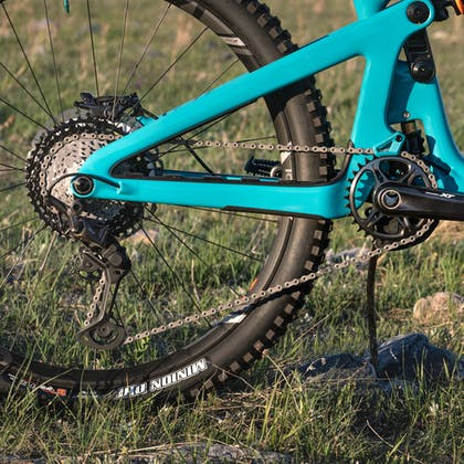 Shimano XT group on Carson Eiswald 2020 Race Bike