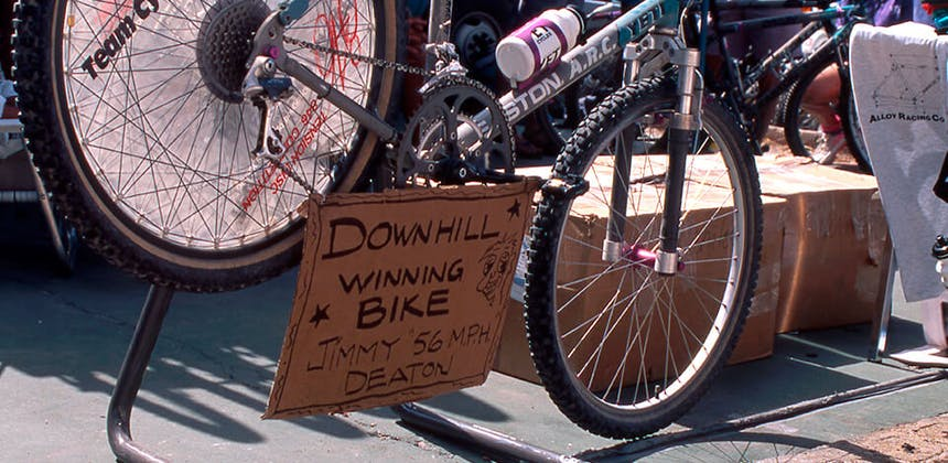 1992 Jimmy Deaton's DH BIke