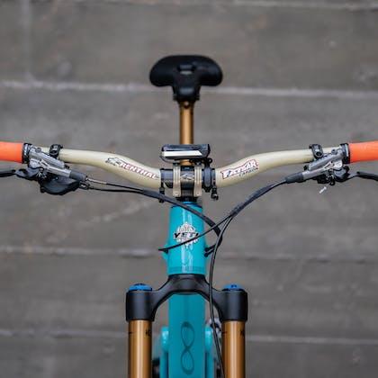 Renthal cockpit on Richie Rude's 2020 Yeti / Fox Factory Team Race Bike