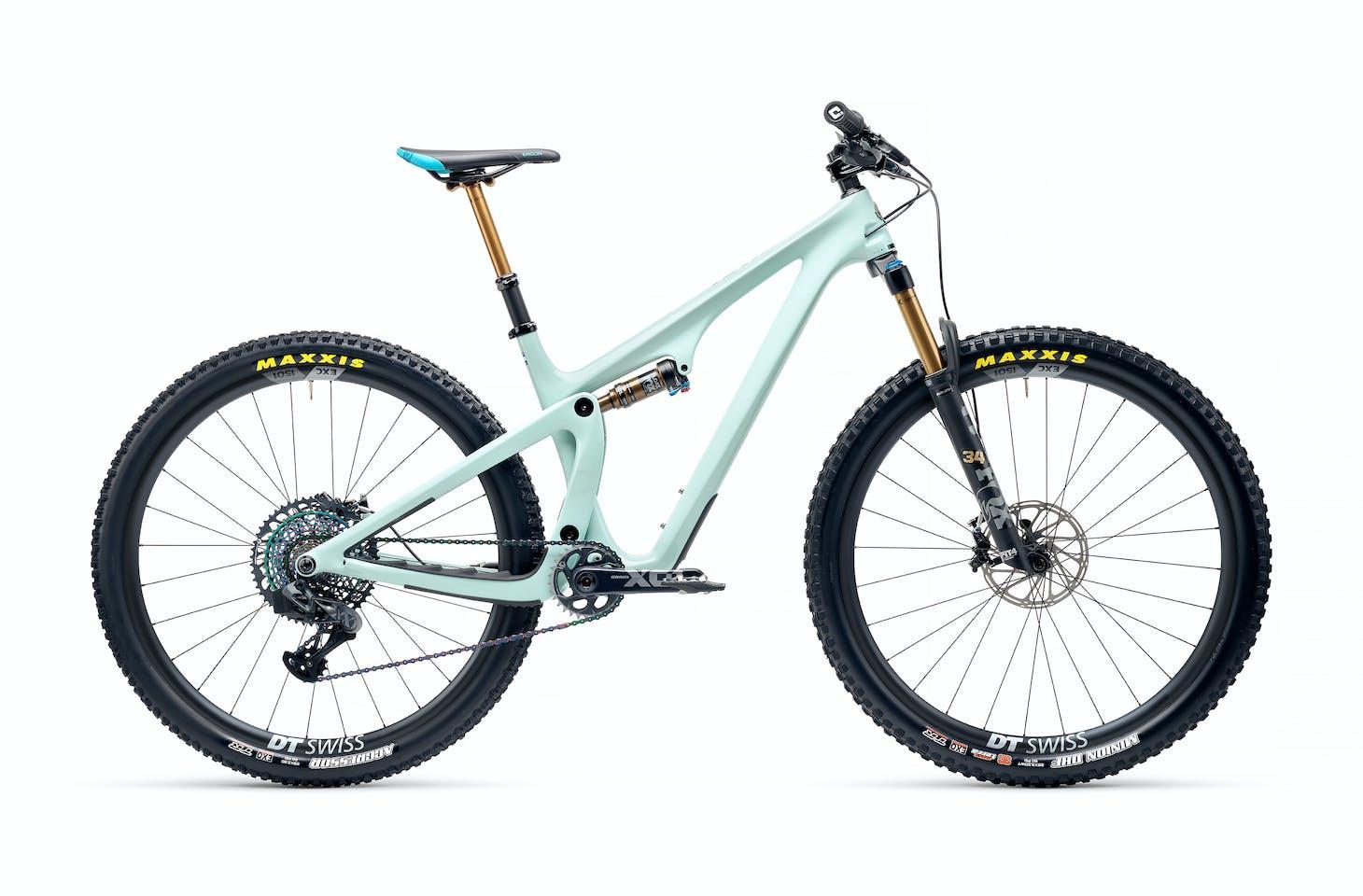 2022 Yeti SB115 T3 AXS Carbon Wheels