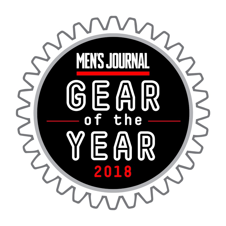 Mens Journal Gear of the year 2018 logo