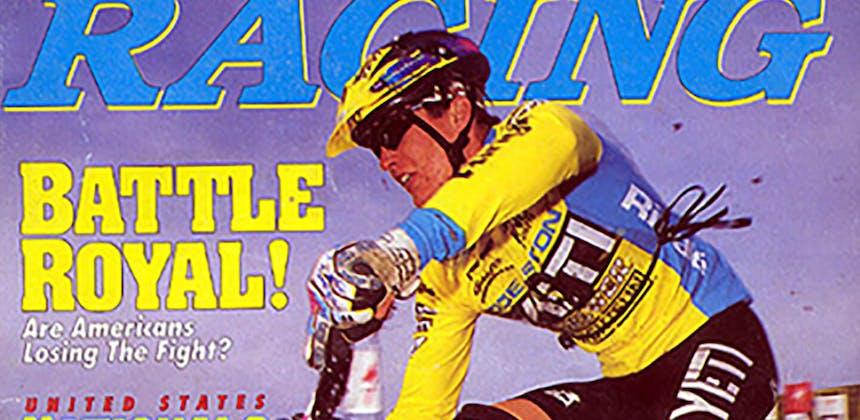 1994 MTB Racing Cover Myles Rockwell