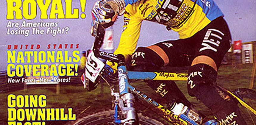 1994 MTB Racing Cover Myles Rockwell