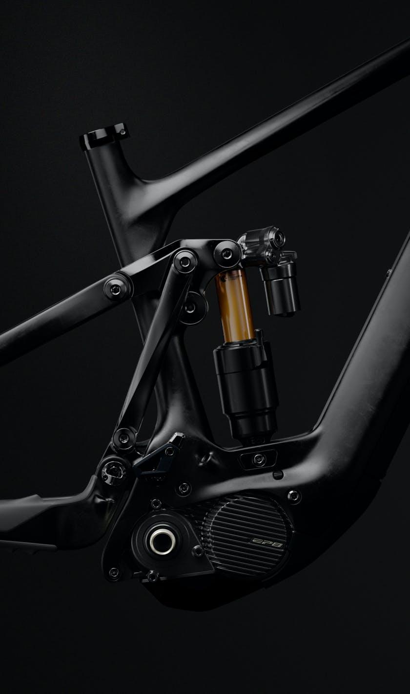160E Raw Carbon Frame