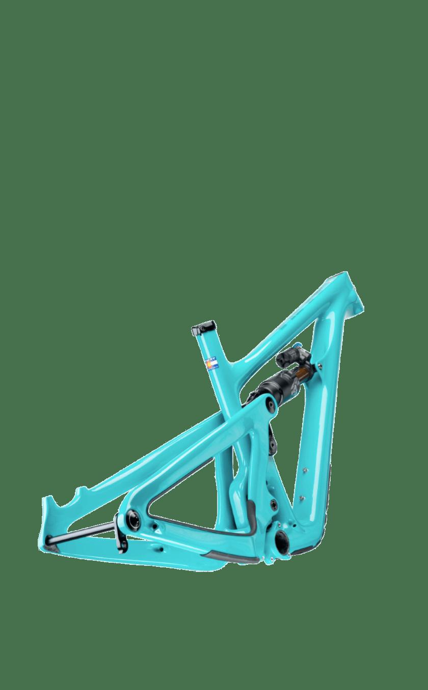 SB150 frame in Turq