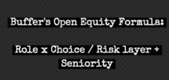 image buffer open equity formula