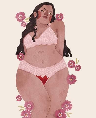 Menstrual Art: Bloody Beautiful