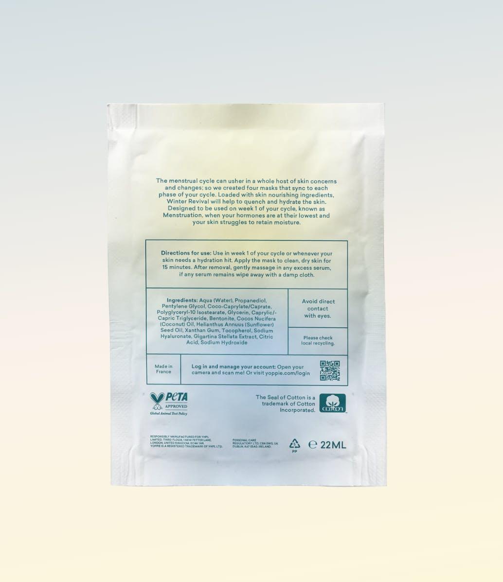 Hydrating Face Sheet Mask