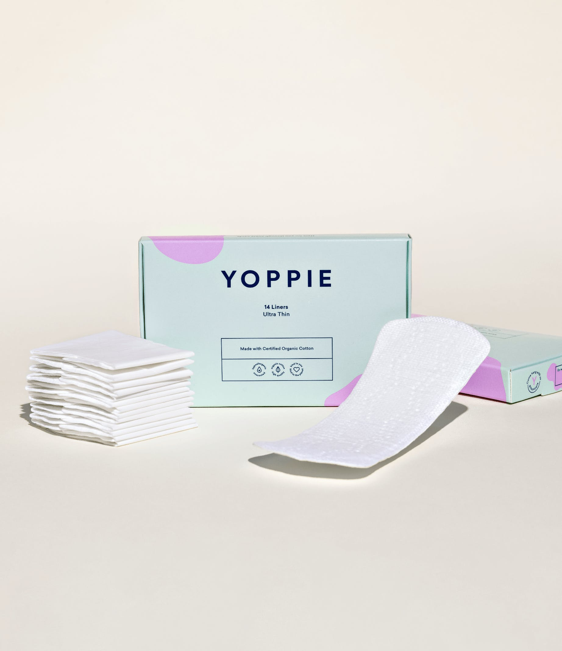 Yoppie Organic Cotton Liners