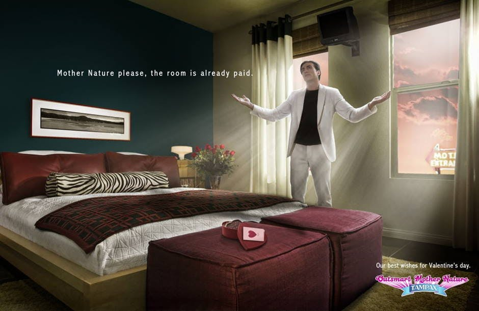 Retro Period Care Advertisement