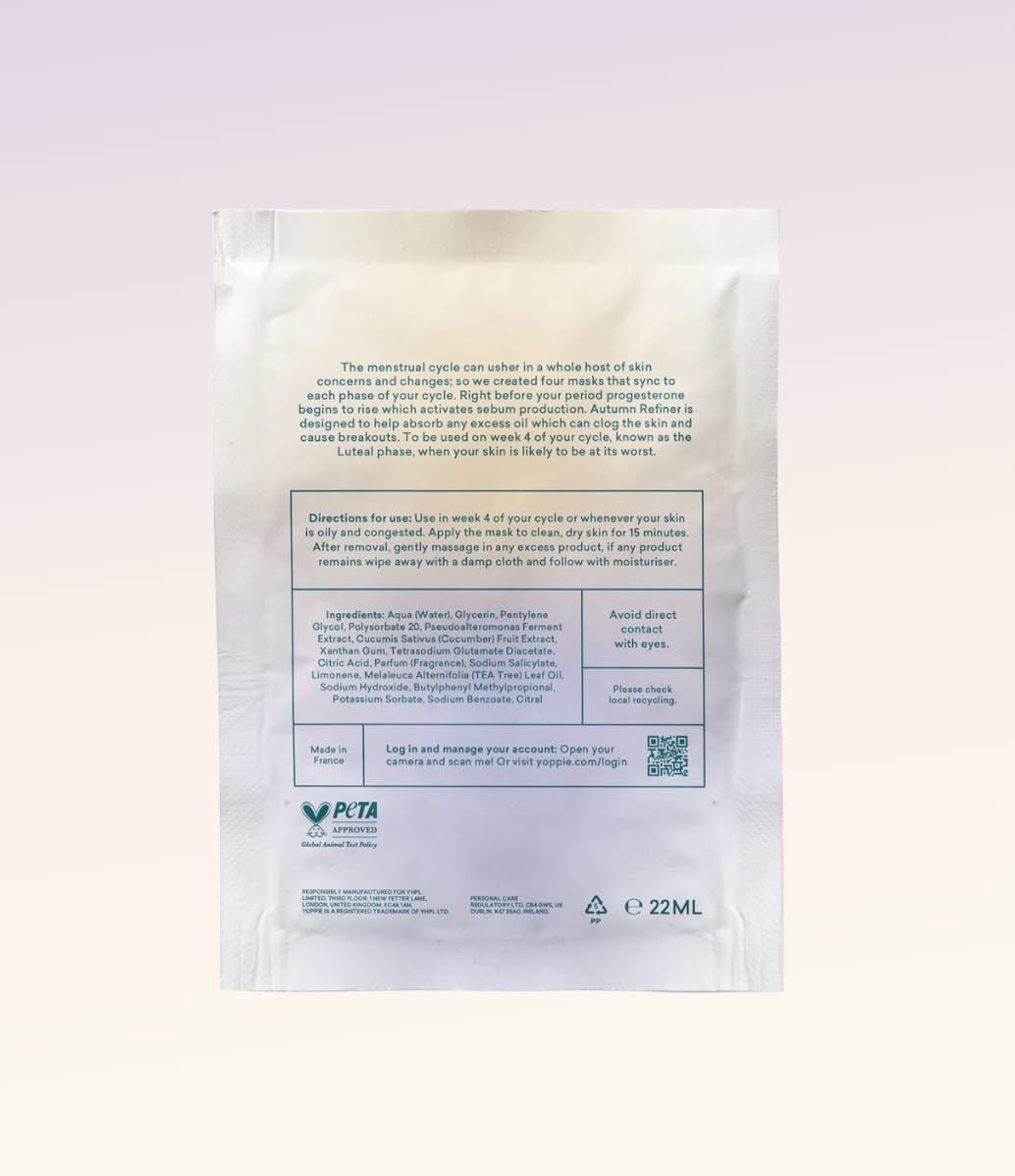 Oil Balancing Charcoal Sheet Face Mask