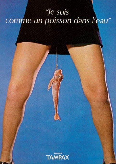 Period Care Retro Advertisement