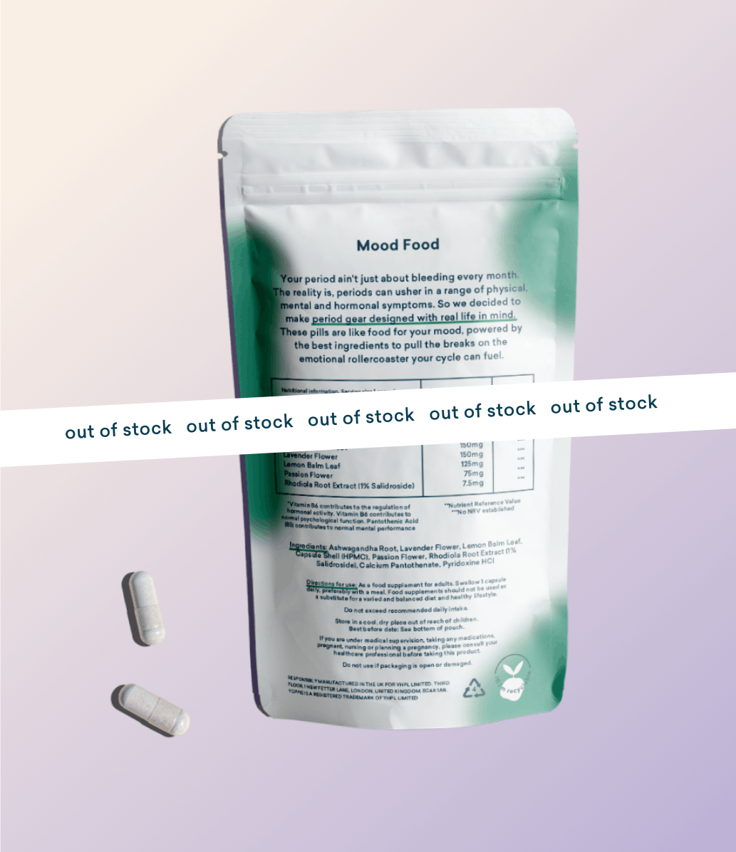 Mood Food PMS Supplements