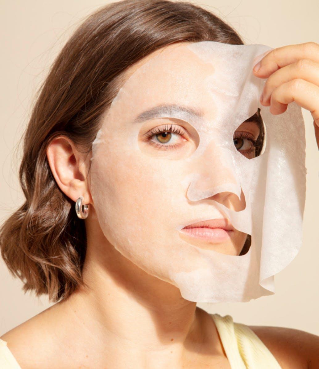 Exfoliating Sheet Face Mask