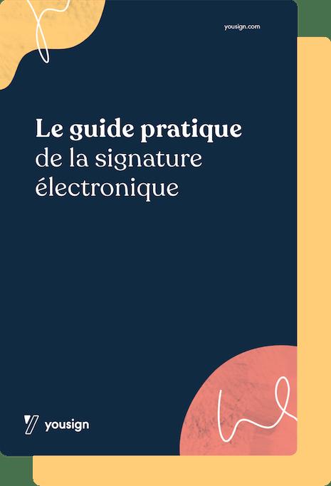 couverture du guide pratique de la eSignature