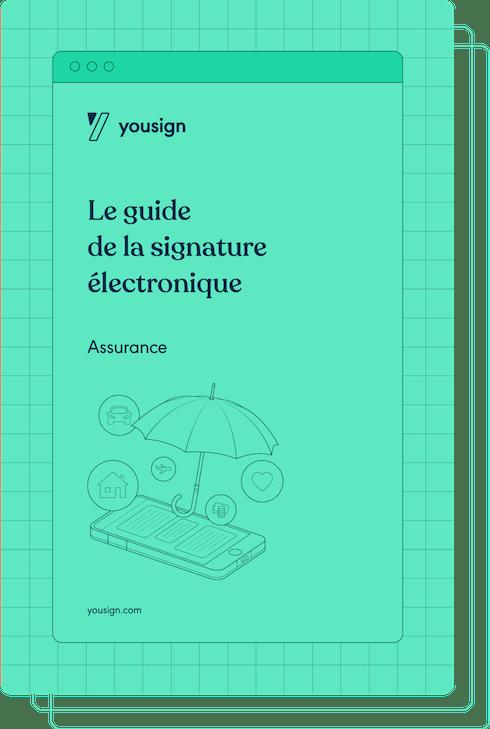 ebook signature électronique assurance