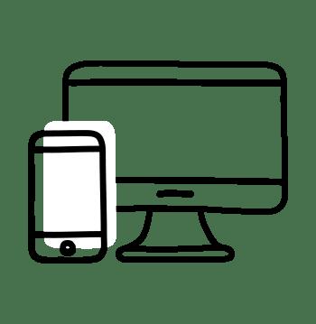 mobile et ordinateur