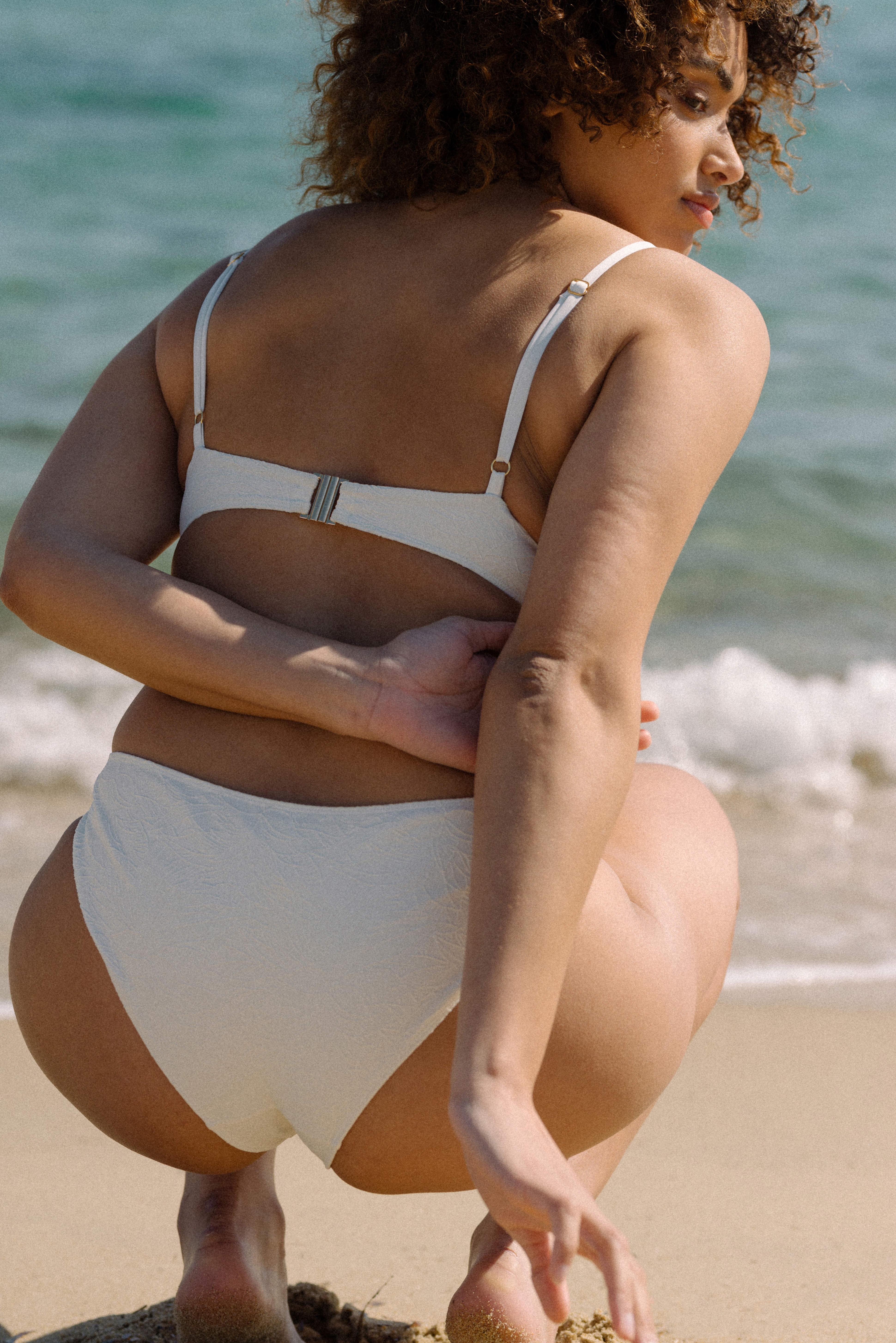 Swimsuit Rêve ensoleillé in white