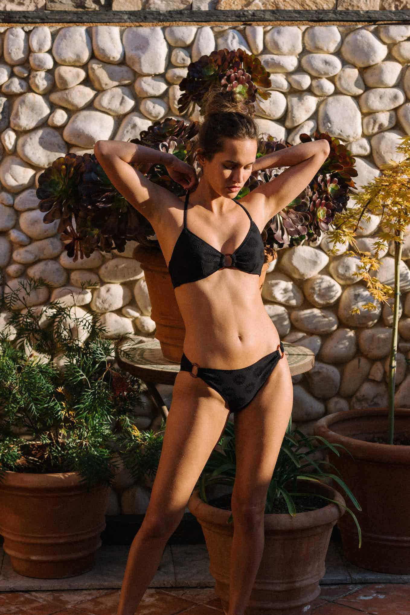 Horizon doux swimsuit in black