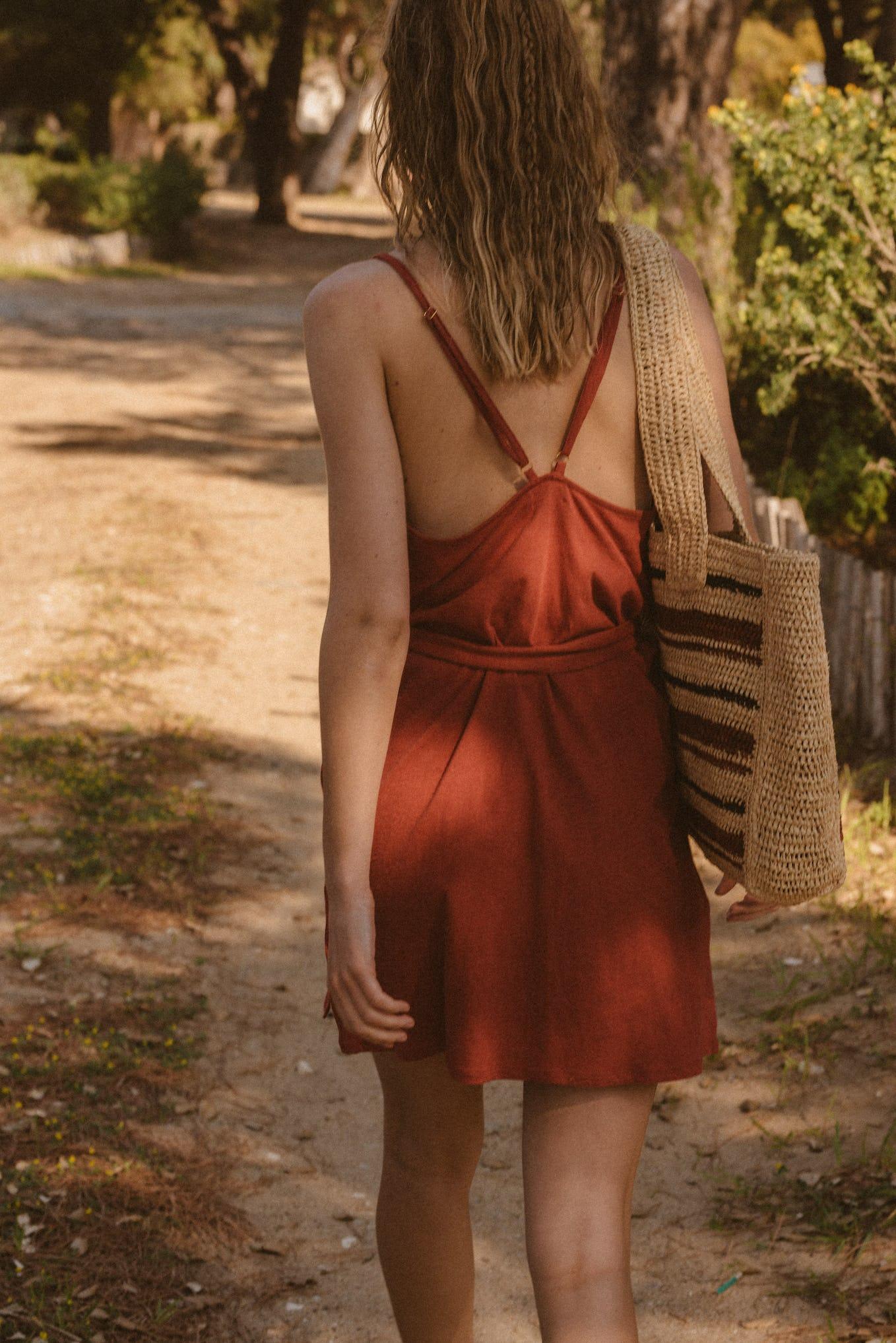 Dress Balade rêveuse terracotta