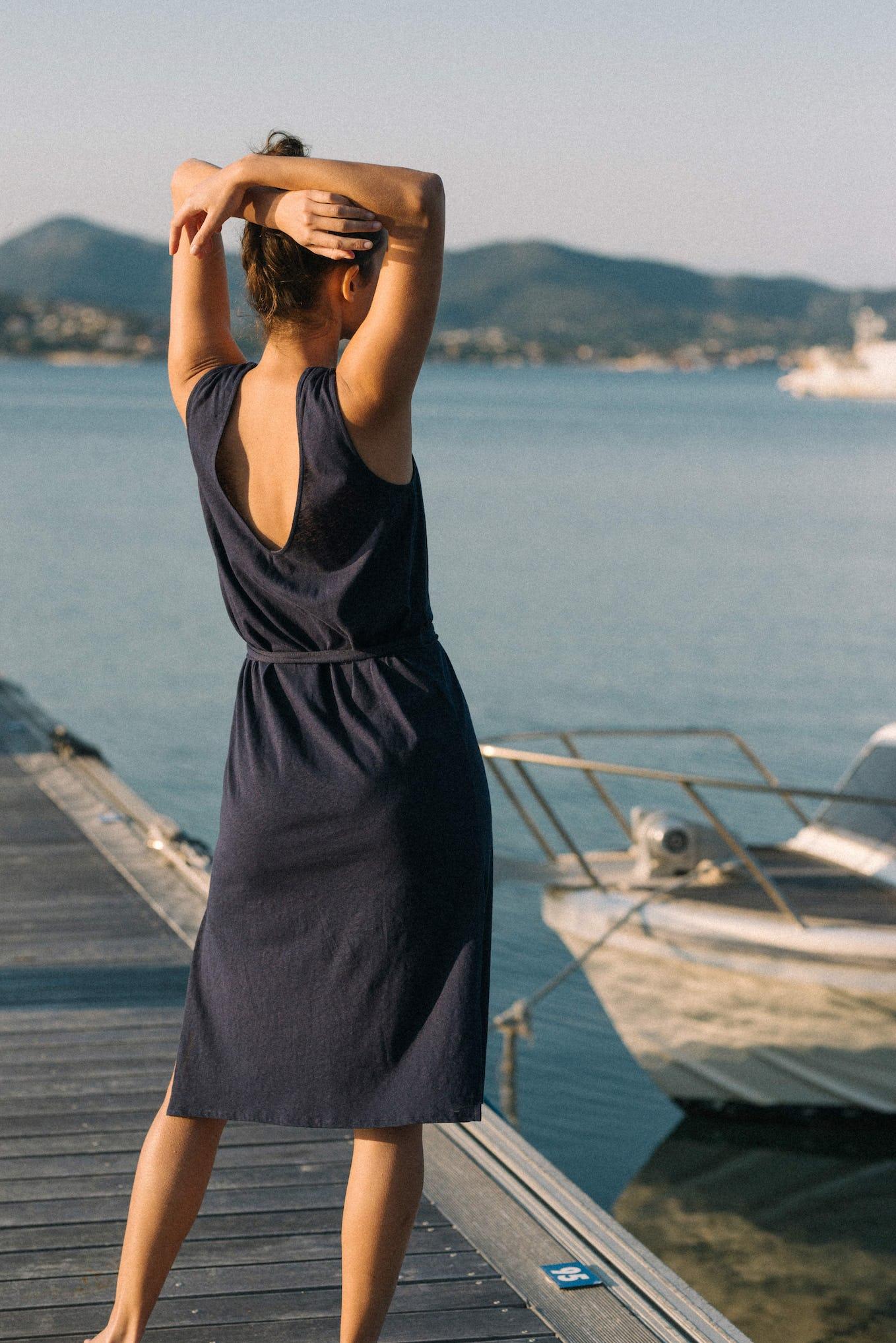 Dress Balade rêveuse Navy blue