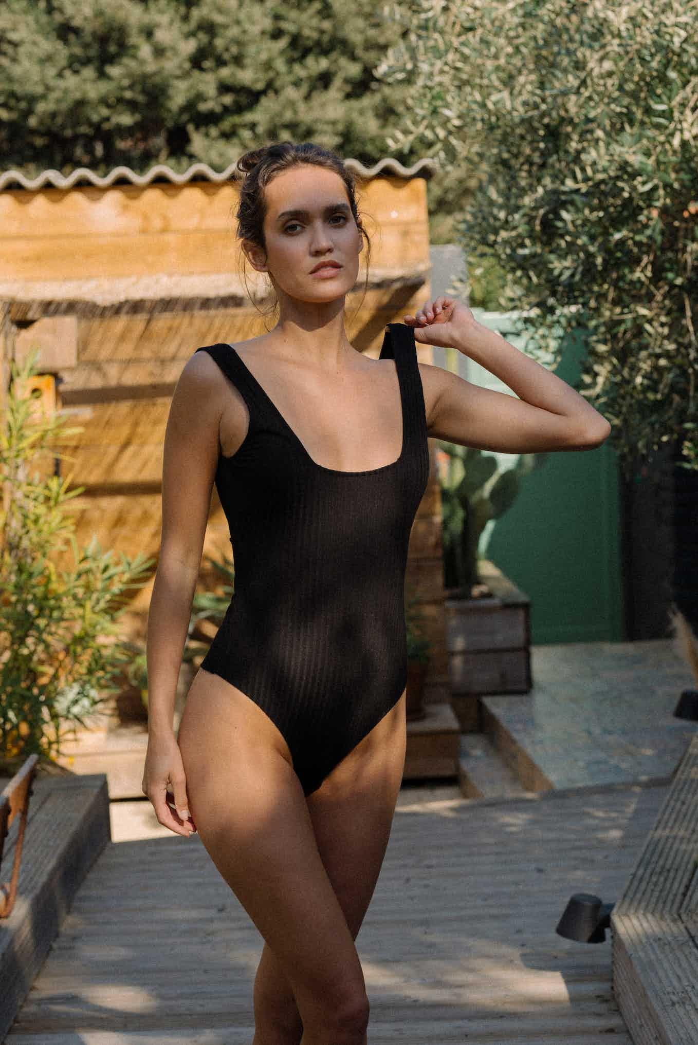 Body Gaéline en noir