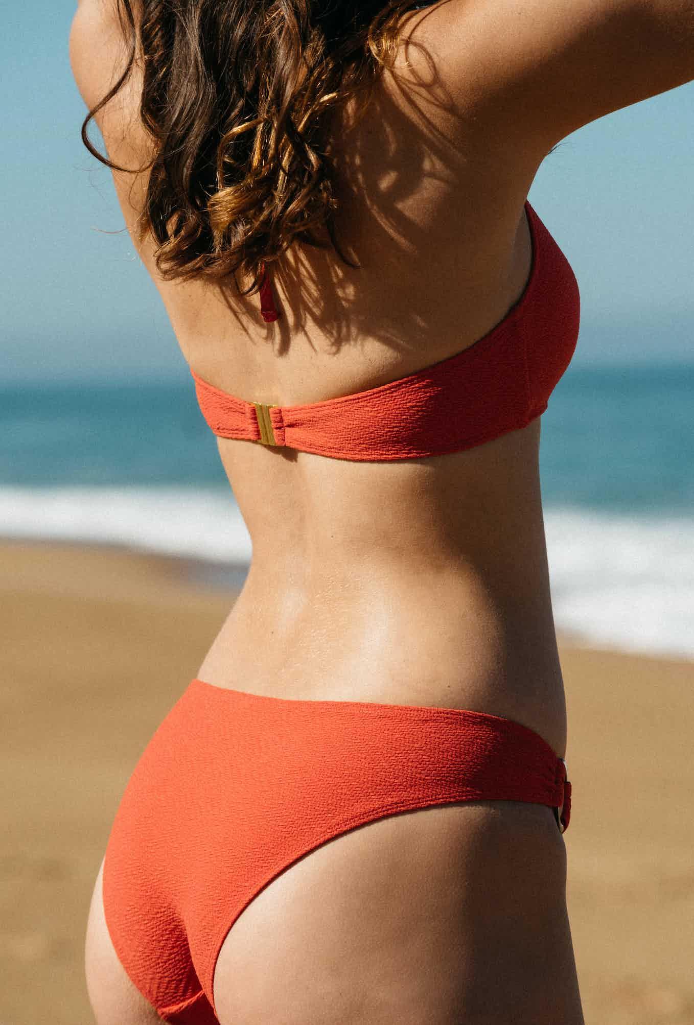 2 -piece swimsuit Horizon doux in coral